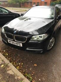 65 BMW 520D SE 8 speed automatic metallic black sapphire