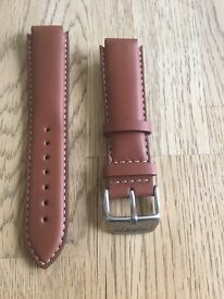 Authentic Brand New Tissot Tan Leather Watch Strap - £25