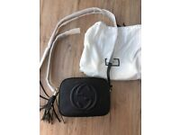 Absolutely New Gucci Soho Small Leather Disco Bag