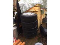 "19"" Volkswagen T5 Range Rover Alloys Wheels 19"" off VW camper"