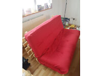 Futon style sofa bed for sale