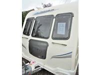 2010 Bailey Pegasus 514 - 4 Berth Touring Caravan With Dinette, Motor Mover & Rear Washroom