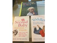 Toddler reference books and cook book