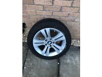 BMW 3 series 17 inch alloy wheel