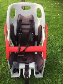 Child's CoPilot bike seat