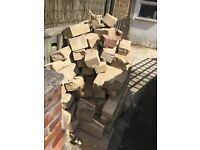 Sand Walling Stones for garden/building. Free!
