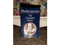 shakespeare complete works book