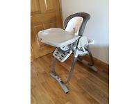 Chicco Polly Magic Newborn Highchair - Mint Condition
