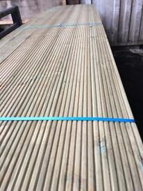 New timber decking 12 ft