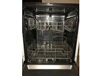 Kenwood integrated dishwasher, approx 1 year old