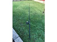 Fox 12 foot carp Rod with free spinning reel