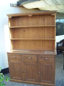 solid pine welsh dresser
