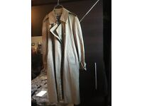 Beige Burberry Large Women's Coat for sale