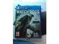 Watchdogs PS4 game