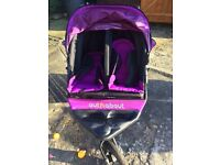 Out and about little nipper double pram