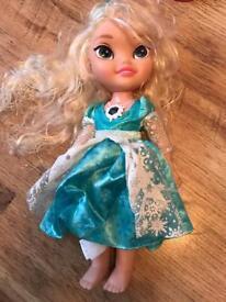 Elsa frozen talking doll