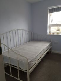 Single 'Evie' Day Bed with Mattress