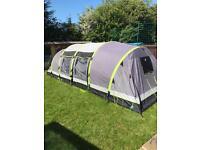 Hi gear airgo nimbus 8 inflatable tent.