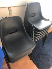 Plastic Chairs x 10
