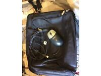 Dell laptop bag with mouse