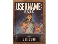 Username Evie Book/Graphic Novel Trilogy