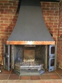 Dovre 2000 Multifuel Stove with Canopy