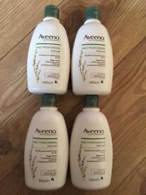 Aveeno Daily Moisturising Body Wash 500ml X 4 packs