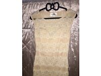 Nude Lace Dress from Lipstick Boutique