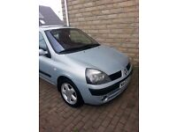 Renault clio dynamique for sale ideal first time car.