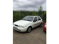 Ford Fiesta in white vgcondition drives superb ideal first car or cheap runabout very reliable car