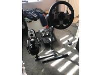 Logitech G27 Steering Wheel Set & Wheel Stand