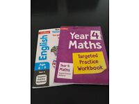 Year 4 English and Maths School Workbook Revision
