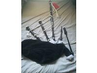 Bag pipes £600 -make-James Begg Blackwood