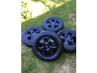 "16"" 17"" Genuine Ford Transit Custom Limited Alloy Wheels Tyres MK9 MK8 Rims"