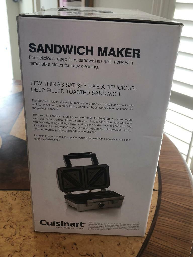Cuisinant sandwich maker brand new, in box