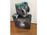 XBOX ONE HALO 5 SPECIAL EDITION WITH HALO 5 SPECIAL EDITION ASTRO HEADSET