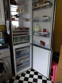 Fridge Freezer, Sandstrom, Silver