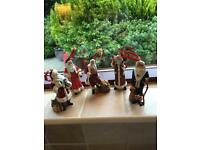 5 Hanging Santas (Each Is A Different Style & Depicting Different Countries) - See All Photos