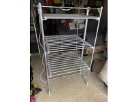3 tier heated airer with cover