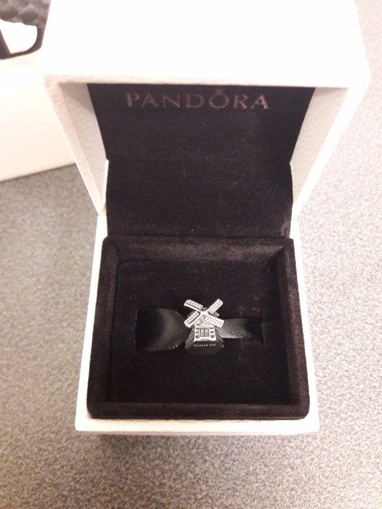 Pandora windmill charm