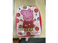 8 x Peppa Pig DVDs plus Peppa Rucksack