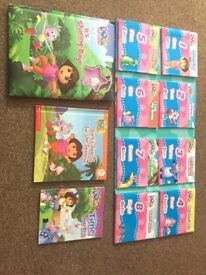 Dora the Explorer collection of books 11 stories