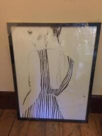 Framed Wall Art fashion 63x83cm