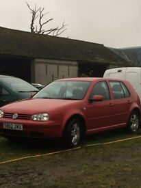 ***2002 GOLF petrol MOT May2018 ***