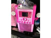 Girls Karaoke machine