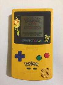 GameBoy Color Pokemon Limited Edition w/ Pokemon Game