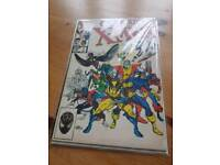 Marvel X-Men issue 1 1986 Signed by Stan Lee