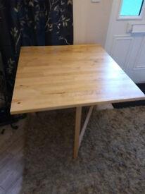 **** IKEA NORDEN EXTENDABLE GATELEG LEAF TABLE ****