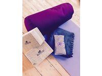 Yoga Studio Organic Buckwheat Bolster