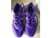 Ladies Size 5 USA Pro purple trainers